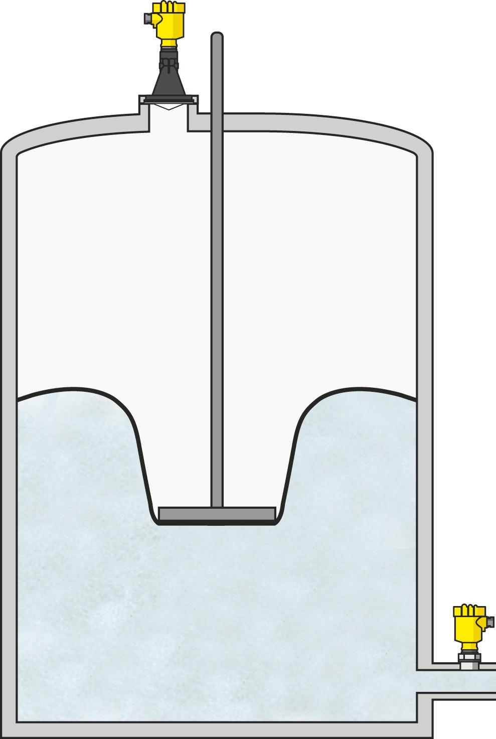 Volumen- und Drucküberwachung im Gasspeicher