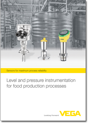 Level and pressure instrumentation in the food industry