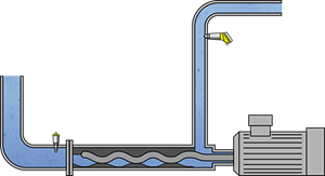 Pumps for wet strength agent