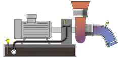 Level and pressure measurement in the vacuum system
