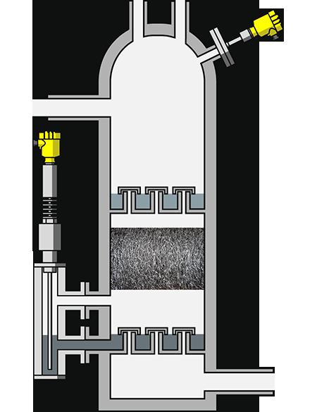 Amine Contactor  U2013 Level  Pressure Monitoring