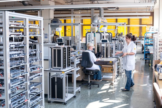 Electronics manufacturing in Schiltach is responsible for the intelligent inner