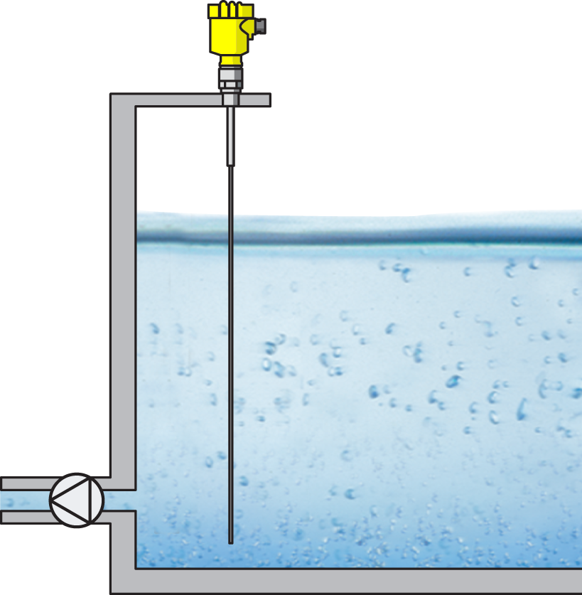Guided wave level transmitters are common in liquid and solid applications.