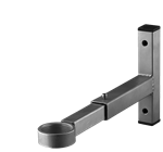 Wall bracket with slide adapter
