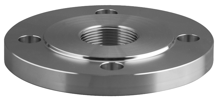 Threaded flanges stainless steel