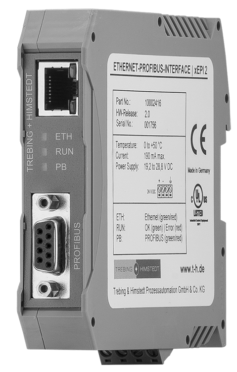 Ethernet-Profibus Interface