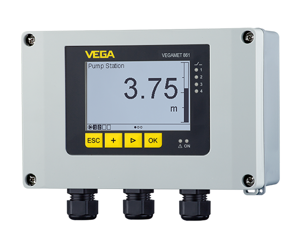 VEGAMET 861, 862 for analogue and digital sensors Data logger