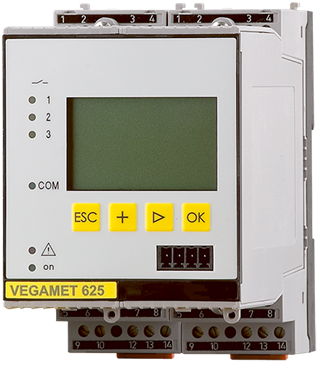 VEGAMET 625 - Controller and display instrument for level sensors