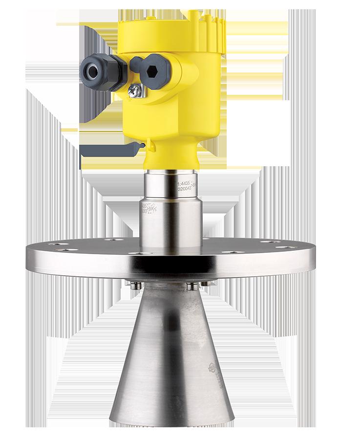 Radarsensor VEGAPULS 66 - Füllstandsmessung von Flüssigkeiten - auch bei stark bewegtem Füllgut