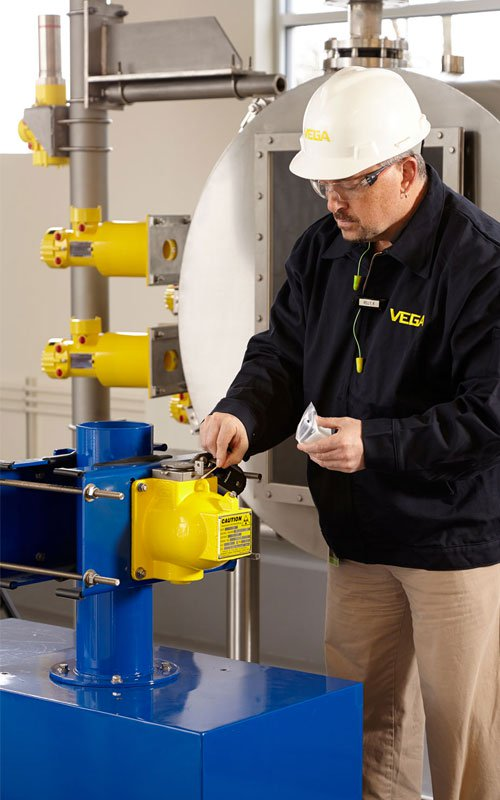 VEGA Americas will perform all necessary leak tests.